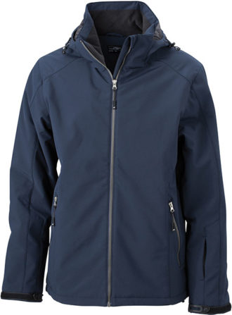Wintersport Jacket Men James and Nicholson - navy