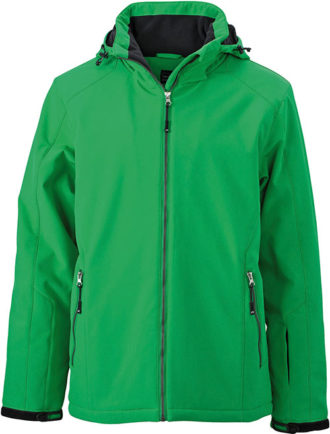 Wintersport Jacket Men James and Nicholson - green
