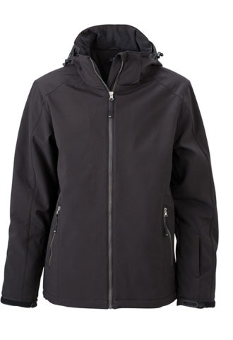 Wintersport Jacket Men James and Nicholson - black
