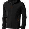 Elevate Langley Softshell Jacke - schwarz