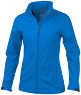 ELEVATE Maxson Damen Softshell Jacke - blau