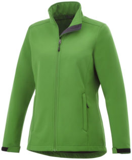 ELEVATE Maxson Damen Softshell Jacke - fern green