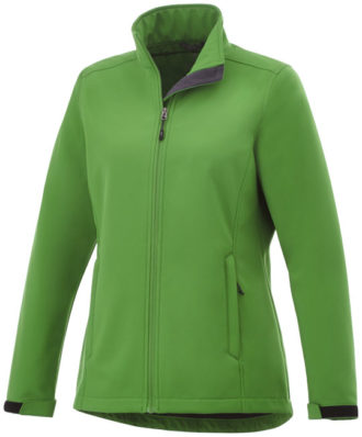 ELEVATE Maxson Damen Softshell Jacke - fern green