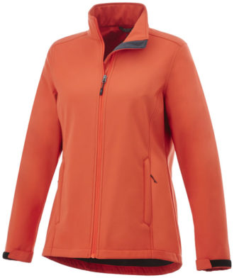 ELEVATE Maxson Damen Softshell Jacke - orange