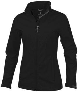 ELEVATE Maxson Damen Softshell Jacke - schwarz
