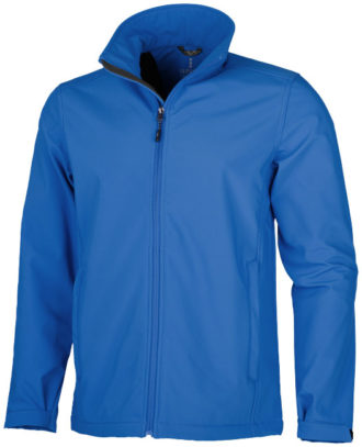 Softshell Jacke ELEVATE Maxson - blau