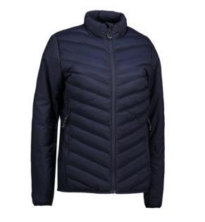 Identity Padded Stretch Jacket Damen - navy