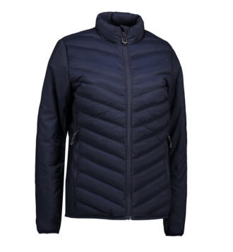 Identity Padded Stretch Jacket Damen - navy