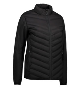 Identity Padded Stretch Jacket Damen - schwarz