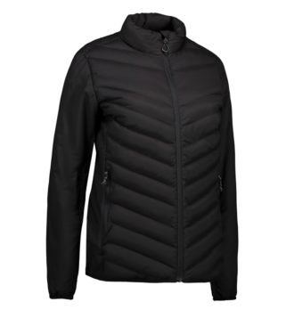 Identity Padded Stretch Jacket Damen - schwarz