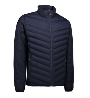 Identity Padded Stretch Jacket - navy