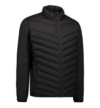 Identity Padded Stretch Jacket - schwarz