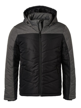 Men's Winter Jacket - black/anthracite-melange