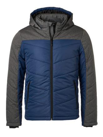 Men's Winter Jacket - navy/anthracite-melange