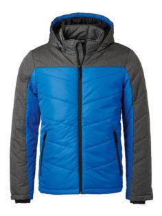 Men's Winter Jacket - royal/anthracite-melange