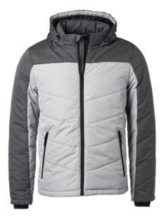 Men's Winter Jacket - silver/anthracite-melange