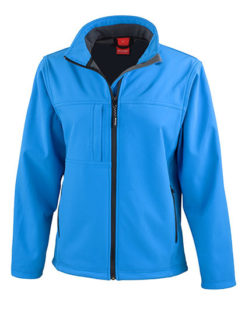 Ladies Classic Soft Shell Jacket Result - azure
