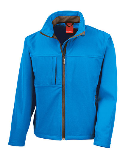 Classic Softshell Jacket Result - azure