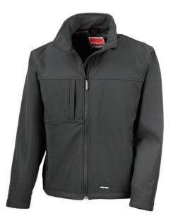 Classic Softshell Jacket Result - black