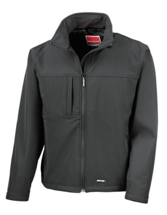 Classic Softshell Jacket Result - black
