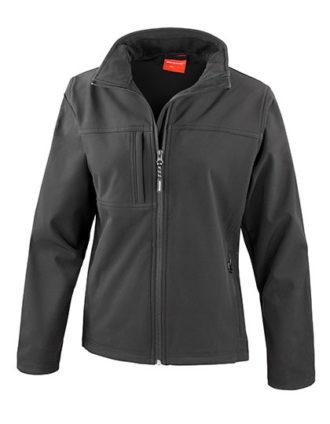 Ladies Classic Soft Shell Jacket Result - black