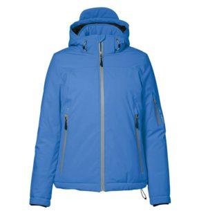 Identity Damen Winter Softshell Jacke - blau