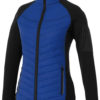 Banff Hybrid Damen Thermo Jacke Elevate - blau