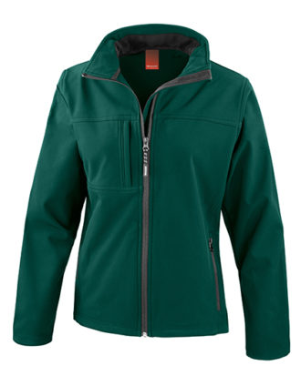 Ladies Classic Soft Shell Jacket Result - bottle