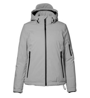 Identity Damen Winter Softshell Jacke - grau