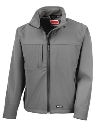 Classic Softshell Jacket Result - grey