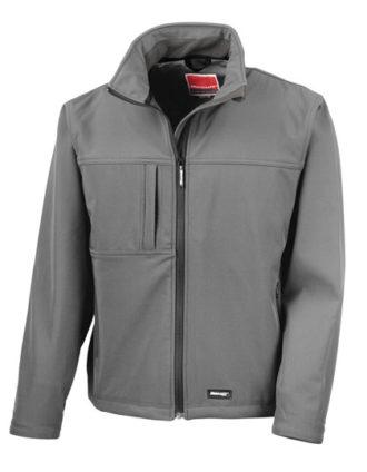 Classic Softshell Jacket Result - grey