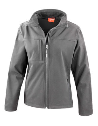 Ladies Classic Soft Shell Jacket Result - grey