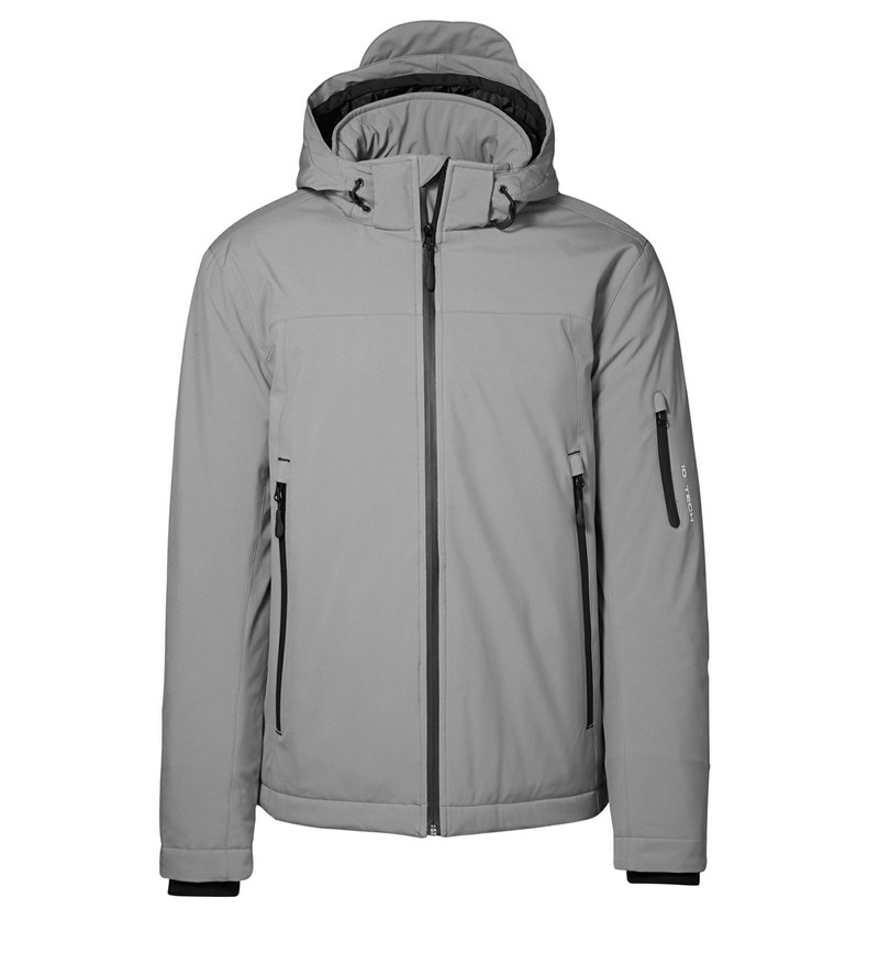 Identity Winter Softshell Jacke - grau
