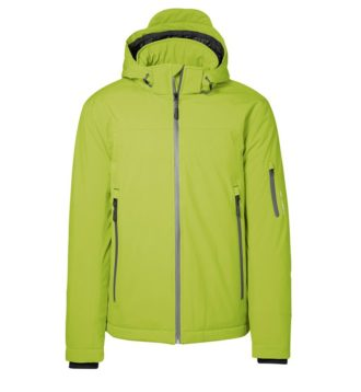 Identity Winter Softshell Jacke - lime