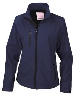 Womens Base Layer Soft Shell Jacket - navy