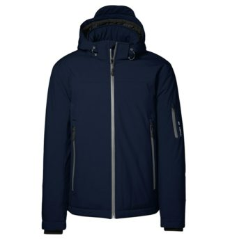 Identity Winter Softshell Jacke - navy