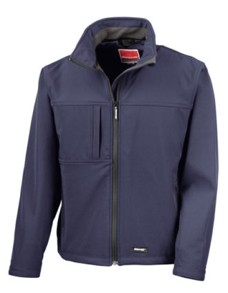 Classic Softshell Jacket Result - navy