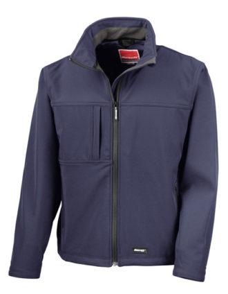 Classic Softshell Jacket Result - navy