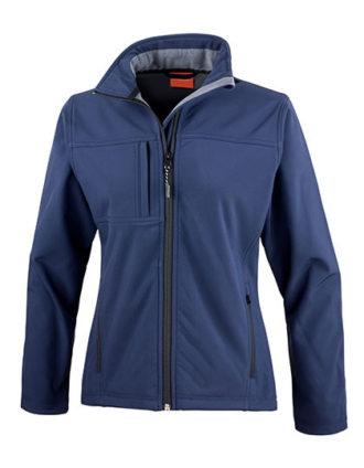 Ladies Classic Soft Shell Jacket Result - navy