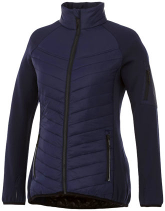 Banff Hybrid Damen Thermo Jacke Elevate - navy