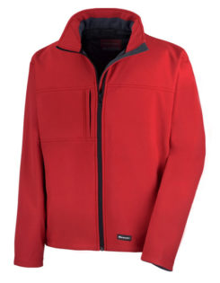 Classic Softshell Jacket Result - red