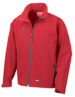 Mens Base Layer Soft Shell Result - red