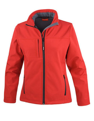 Ladies Classic Soft Shell Jacket Result - red