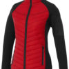 Banff Hybrid Damen Thermo Jacke Elevate - rot