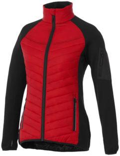 Banff Hybrid Damen Thermo Jacke Elevate - rot