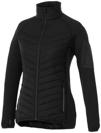 Banff Hybrid Damen Thermo Jacke Elevate - schwarz