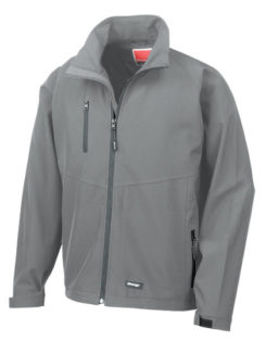 Mens Base Layer Soft Shell Result - grey