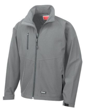 Mens Base Layer Soft Shell Result - grey