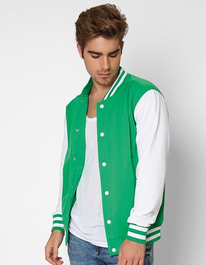 Campus Jacket Nath - green white