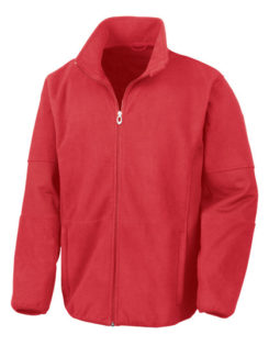 Osaka Combed Pile Soft Shell Jacket Result - red